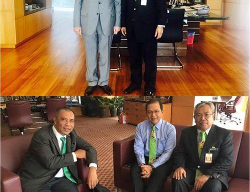 Kunjungan Hormat ke atas YB Menteri & Timbalan Menteri Sumber Asli dan Alam Sekitar