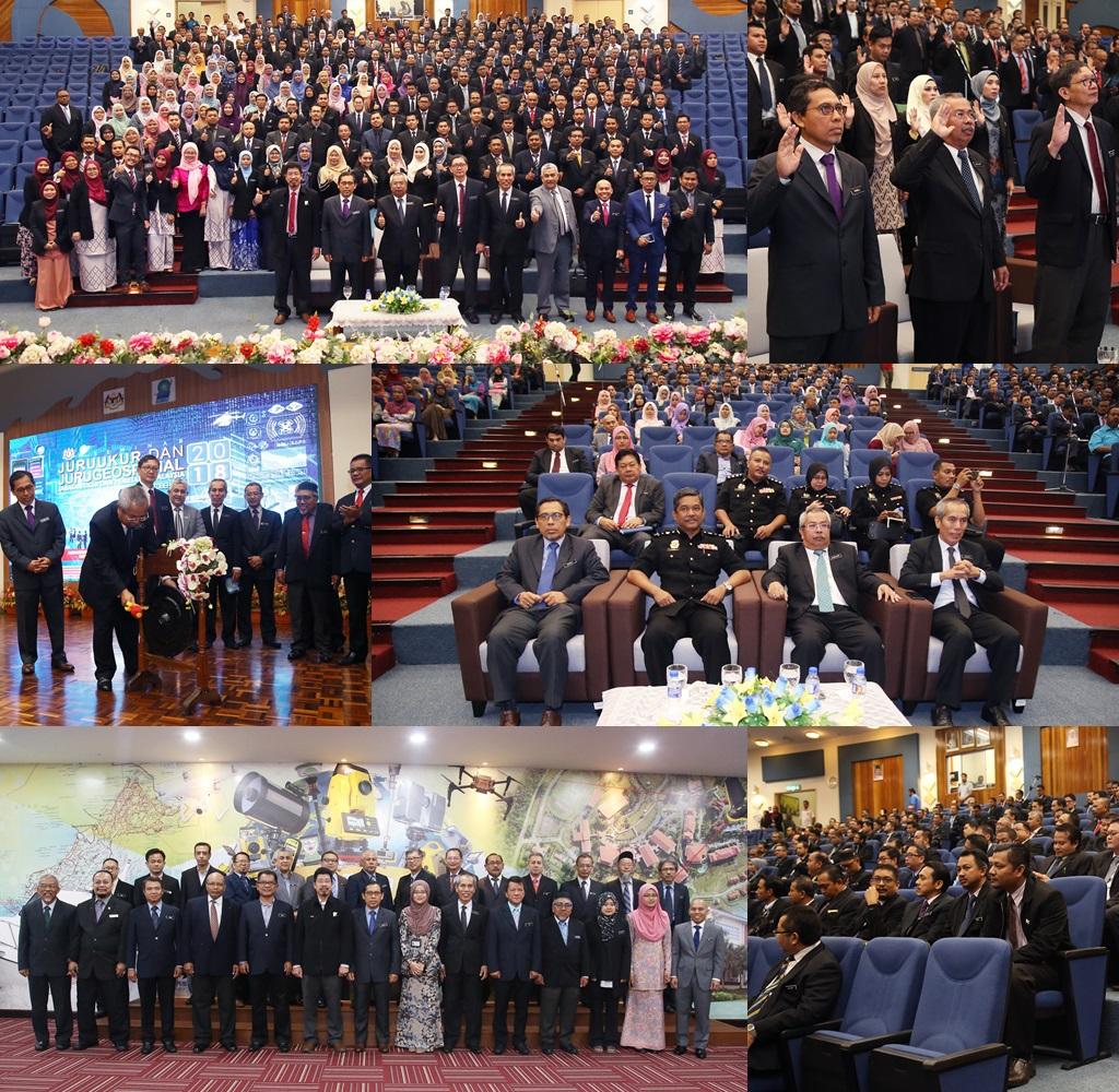 Seminar Juruukur/Jurugeospatial JUPEM 2018