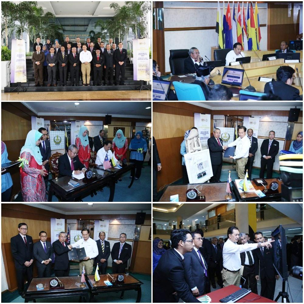 Majlis Menandatangani Nota Kerjasama antara JUPEM dan Pejabat SUK Negeri Perak